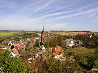 Cedynia Place in West Pomeranian Voivodeship, Poland