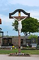 Cemetery cross on the cemetery Halbturn, Burgenland, Austria-cross PNr°0717.jpg