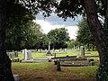 Cemetery on Bramcote Lane, Wollaton - geograph.org.uk - 919164.jpg