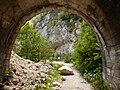 Centa San Nicolò-Valico della Fricca-old tunnel 4.jpg