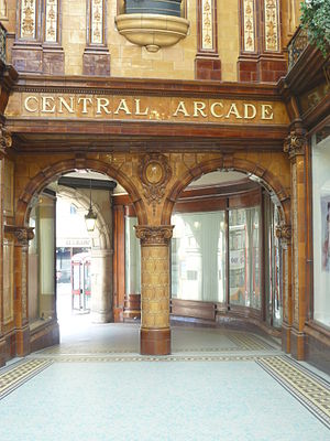 Central Arcade, Newcastle upon Tyne - Image: Central Arcade, Grey Street, Newcastle Upon Tyne (9301311934)