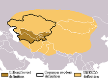 Central asian country monday market