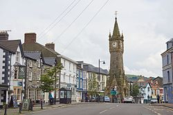 Central Machynlleth, June 2016