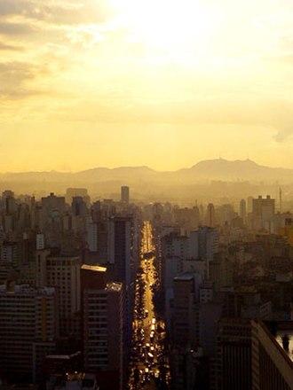 Central Zone of São Paulo - São João Avenue
