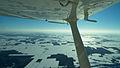 Cessna 172 en vol Entre Sherbrooke et Trois Rivière.jpg