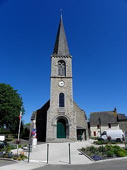 Châlons-du-Maine (53) Église 01.JPG