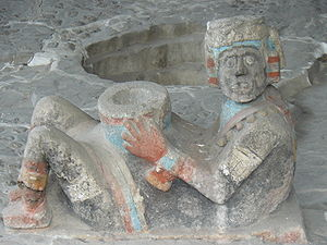 Chacmool - An Aztec chacmool from the Great Temple of Tenochtitlan.