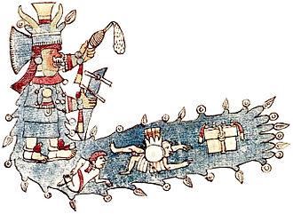 Codex Ríos - Image: Chalchiutlicue rios