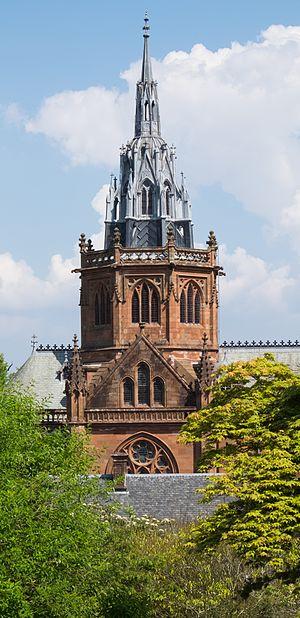 Mount Stuart House - Chapel tower 2016