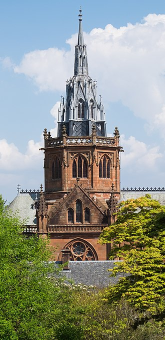 Mount Stuart House - Chapel tower 2016