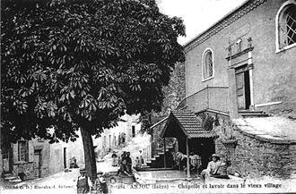 Anjou, Isère - The Chapel of Notre-Dame