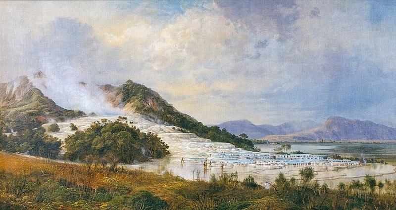 File:Charles Blomfield - The White Terraces, Rotomahana, 1888.jpg