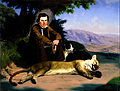 Charles Christian Nahl - Peter Quivey and the Mountain Lion - Google Art Project.jpg