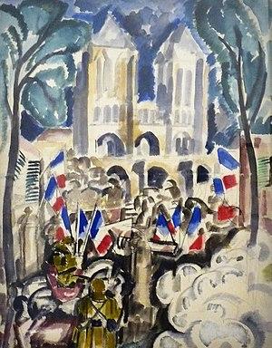 Charles Dufresne - Noyon, 1917