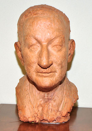 Charles Fahy - Commissioned bust of Fahy