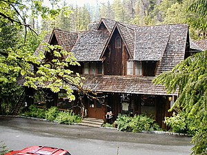 Pacific lodge - The Chateau at Oregon Caves National Monument.
