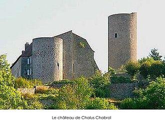 Châlus - The château of Châlus Chabrol