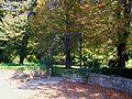Chauvry (95), grille du parc du château (disparu), rue de Baillet.jpg