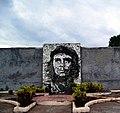 Che Guevara Mural on wall, Cuba (3328676515).jpg