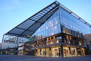 Gläsernes Kaufhaus von Helmut Jahn