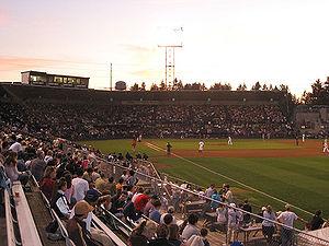 Cheney Stadium - Image: Cheney Stadium Sunset