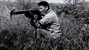 Chester Nez - Chester Nez during World War II.