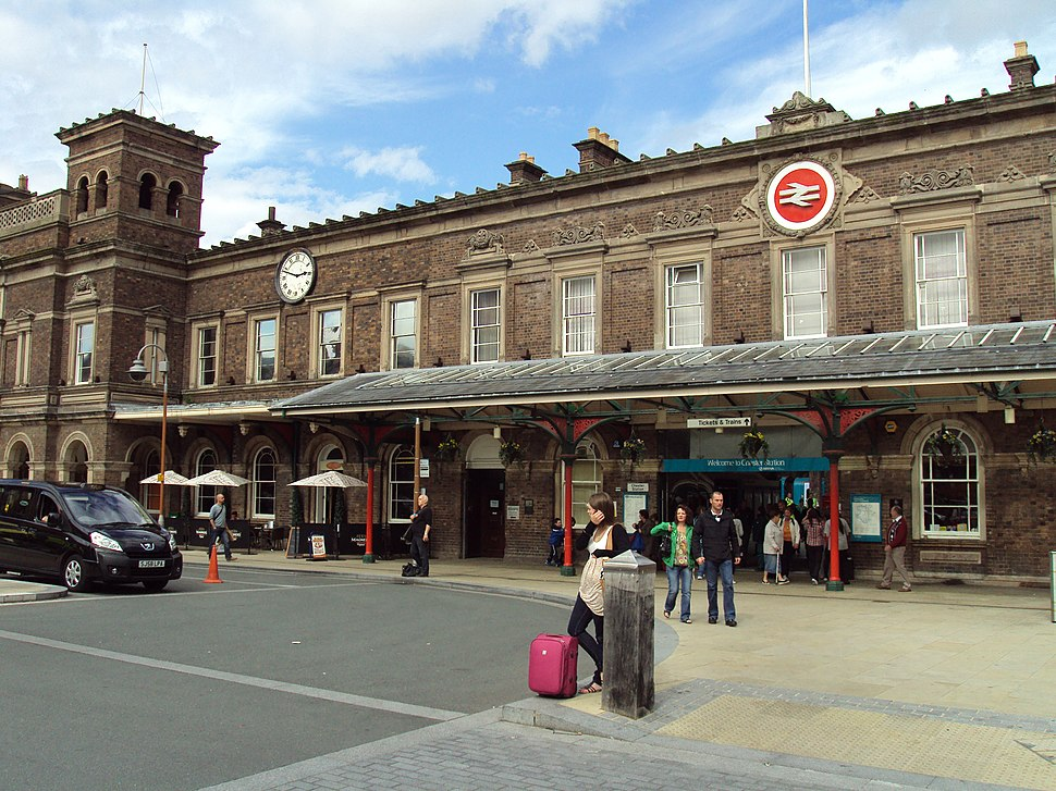 Chester railway station 1