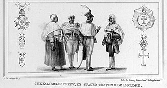 Order of Christ (Brazil) - Knights of Christ in Rio de Janeiro during the reign of Dom Pedro I.