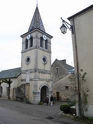 The church in Chevannes