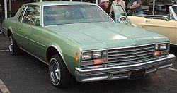 Chevy Impala Paint Code