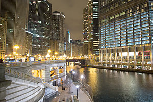 Chicago Riverwalk - The riverwalk