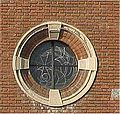 Chiesa Santuario del Carmelo Monza round window.jpg