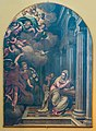 Chiesa di San Bernardino Annunciazione Paolo Farinati 1584 Salò.jpg