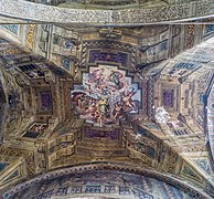 Chiesa di Santa Agata volta sopra l'ingresso Brescia.jpg