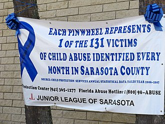 Child abuse - Child Abuse Awareness Banner