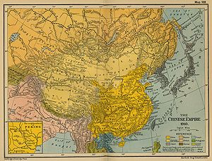 Concessions in China - China in 1910