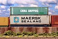 China Shipping - Maersk-Sealand 40' Containers - Ho Scale (43192408211).jpg