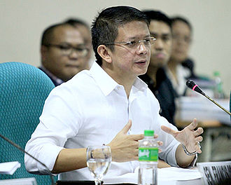 Francis Escudero - Senator Escudero during a session with the Philippine Senate, September 24, 2014