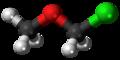 Chloromethyl methyl ether 3D ball.png