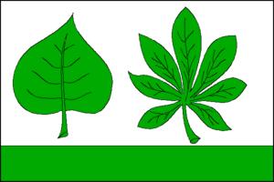 Chlumek - Image: Chlumek flag