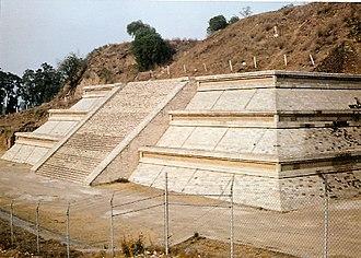 Great Pyramid of Cholula - Building F