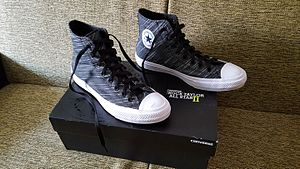Chuck Taylor All-Stars - Chuck II with knit canvas