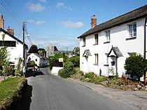 Church Road, Whimple - geograph.org.uk - 1509979.jpg
