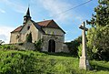 Church of Saint Wenceslaus in Chvojinek (4).jpg