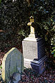 Church of St Mary Theydon Bois Essex England - churchyard West and Thompson graves.jpg