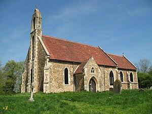 Hatley, Cambridgeshire - Image: Churchstdenis 4216