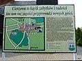 Cieszowa - tablica informacyjna przy kościele. - panoramio.jpg