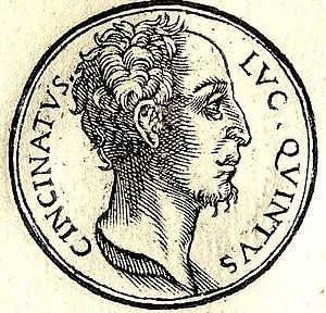 Lucius Quinctius Cincinnatus - Image: Cincinnatus