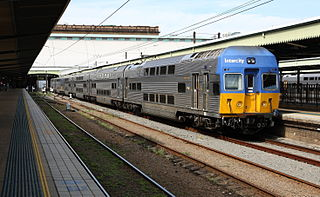 NSW TrainLink V set class of electric multiple unit operating in New South Wales, Australia