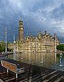 City Park and City Hall, Bradford (Taken by Flickr user 10th June 2012).jpg